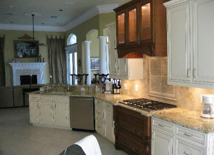 Custom Cabinet Refacing Kitchens, Kitchen Craft Cabinets Naples Florida